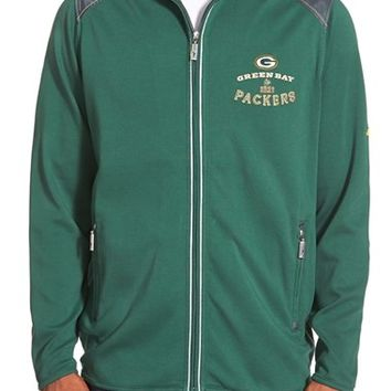 Men's Tommy Bahama 'Goal Line - Green Bay Packers' NFL Full Zip Jacket,
