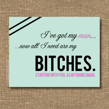 I\'ve Got My Man Now All I Need Are My from RockCandieDesigns