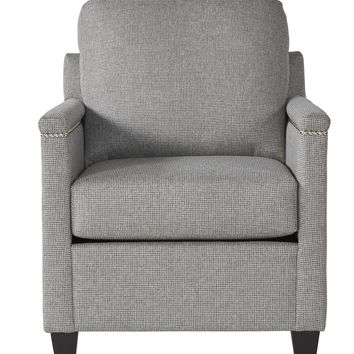 Peppershack Gray Accent Chair