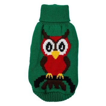 Dog Owl Warm Sweater
