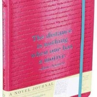 Pride and Prejudice - a Novel Journal (A Novel Journal)