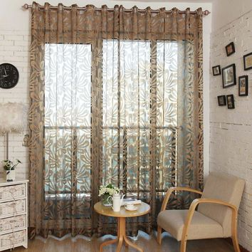 Window Sheer Curtains Panel, Barcelona