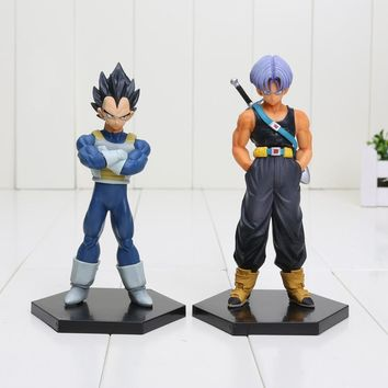 15cm Dragon Ball Z Trunks Vegeta 1/8 scale father and son PVC Action Figure Collectible Model Toys Dragon Ball Figure