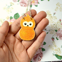 EDF energy zingy mascot necklace - Bows Jewellery