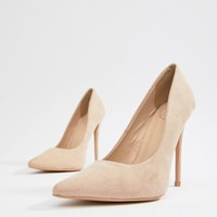 Missguided Pointed Court Shoe at asos.com