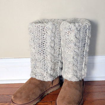 BOOT CUFFS Socks Muffs Leg Warmers Choose COLOR UGGs by lucymir
