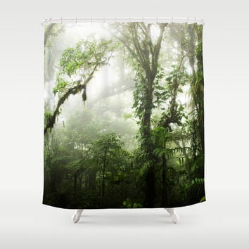 Cloud Forest Shower Curtain by Nicklas Gustafsson