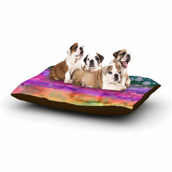 "Ebi Emporium ""California Surf 5"" Pink Purple Dog Bed"