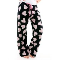 Hue Sleepwear Heart Garden Long PJ Pants - Plus Size