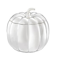 Silver Plated Decorative Box | Eichholtz Pumpkin