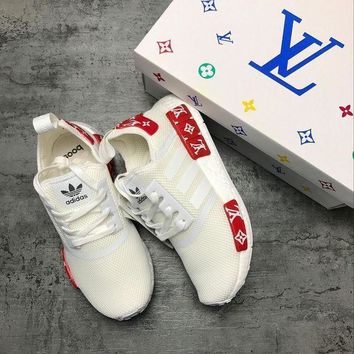PEAPGE2 Beauty Ticks Adidas Nmd X Lv Louis Vuitton Boost Fashion Leisure Running Sports Shoes
