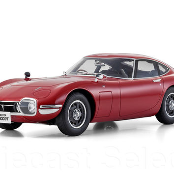 Toyota 2000 GT, Red