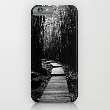 Bamboo Trail iPhone & iPod Case by Derek Delacroix