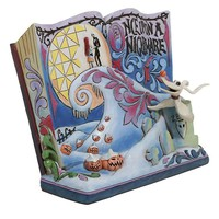 The Nightmare Before Christmas Storybook Resin Figurine