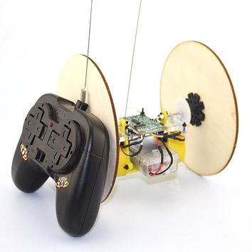 DIY Disc Wheel Tire Remote Control Model Toy