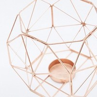 Copper Wire Dome Candle Holder - Urban Outfitters