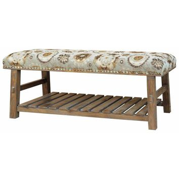 Rustic Hillcrest Bench