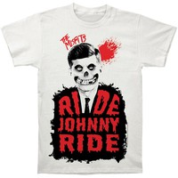 Misfits Men's  Ride Johnny Ride Subway T-shirt Vintage