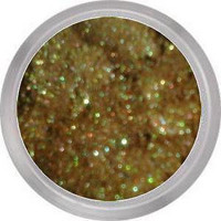 Reverie - eyeshadow - duochrome brown / green with multi sparkles