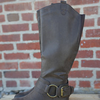 Emerson Riding Boot by Pierre Dumas {Brown}