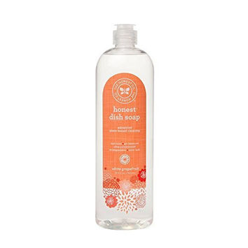 The Honest Company White Grapefruit Dish Soap, 26.5 Ounces