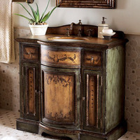 """Meadow"" Chest with Sink - Horchow"