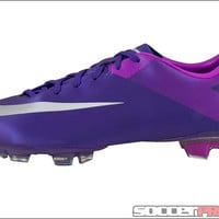 Nike Mercurial Miracle II FG Soccer Cleats - Court Purple with Magenta - SoccerPro.com