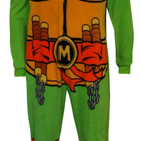 Teenage Mutant Ninja Turtle Michaelangelo Union Suit Pajama