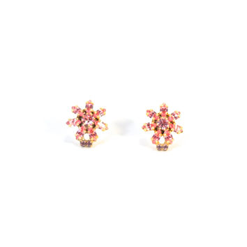 Fragile As a Flower Vintage Earrings