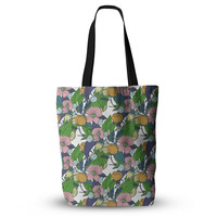 "Catherine Holcombe ""Spring Foliage"" Floral Pastels Everything Tote Bag"