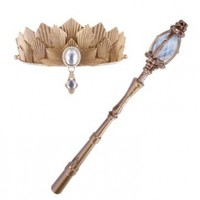 Disney Oz The Great and Powerful-Glinda's Signature Tiara and Light Up Wand
