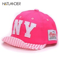 Baby hat Boys Baseball Caps Kids Embroidery Letter NY caps Children Sun hat toddler Girl hat babies Hats