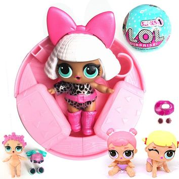 Surprise Dolls with Ball Box Action Figure Noneca Surpresa Funny Toys Children Gifts LOL Surprise Doll