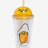 Gudetama Dome Acrylic Travel Cup