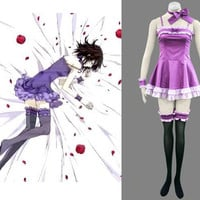 Yuki Cross Kuran Costume Purple Dress from Vampire Knight Costume