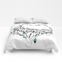 Poetic Bear Comforters by LouJah