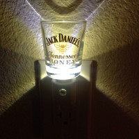 Jack Daniels Tennessee Honey Shot Glass Nightlight