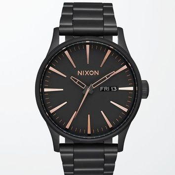 Nixon The Sentry Stainless Steel Watch at PacSun.com