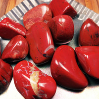 "RED JASPER ""Mother Earth's Blood"" Aids Vitality, Health, Strength & Stamina Stimulates Chi ""Stone of Endurance"" Ancient Talisman of Warriors"