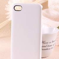 White iPhone 4/4S Case Bulk
