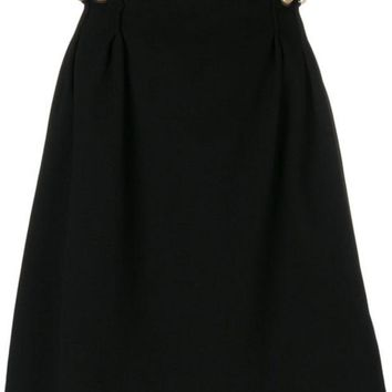 VONEG8Q Carven Gathered Side Skirt - Farfetch