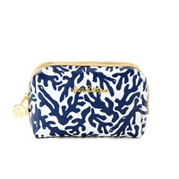Lilly Pulitzer Palm Beach Large Printed Cosmetic Case
