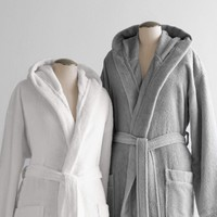 Hooded Turkish Cotton Robe