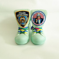 NYPD USA Handmade Kicks