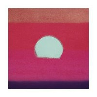 Sunset, c.1972 (hot pink, purple, red, blue) Premium Giclee Print by Andy Warhol