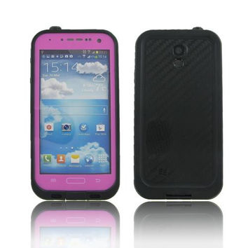 Samsung I9500 (Galaxy S4) Pink Water Proof Case