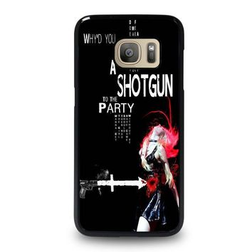 the pretty reckless quotes samsung galaxy s7 case cover  number 1