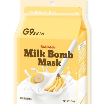 G9 Skin Banana Milk Bomb Mask
