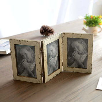 Creative Home Decor Pastoral Style Accessory Vintage Photo Frame [6282980166]