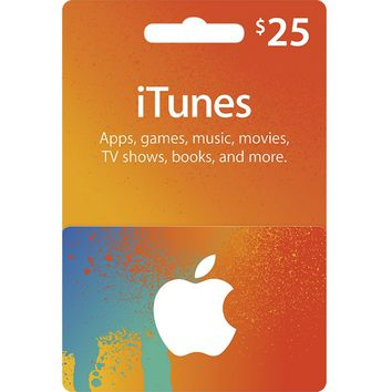 App Store & iTunes Gift Cards - $25